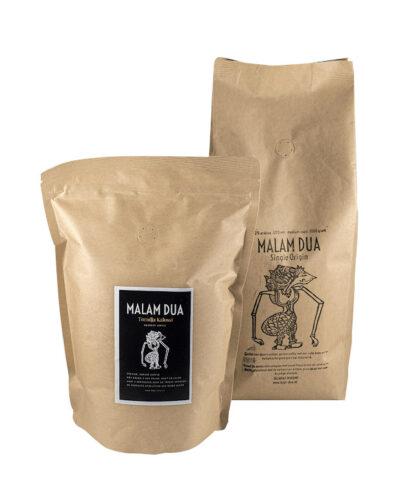 Malam dua koffie kopi dua specialty coffees
